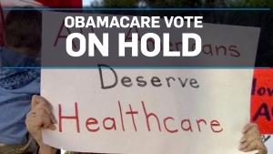 Vote to repeal U.S. ACA delayed