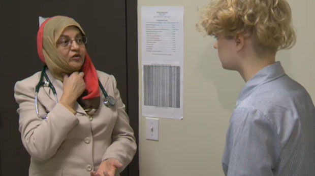 Dr. Sakina Raj says sniffles, runny nose, burning eyes and rash are all symptoms of an allergic reaction to snow mould.