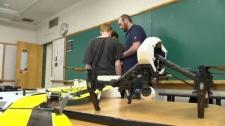 Drone club hopes at Elmwood High School