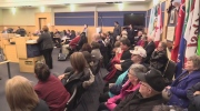 A Grey County Council meeting over long-term care in Owen Sound on Thursday, March 23, 2017 was packed.