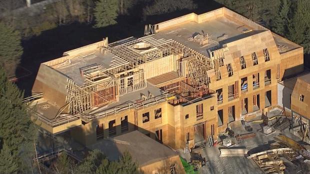 extended aerial view of drake s toronto mansion ctv news drake house caravan site drake house sheffield