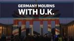 Union Jack lights up Brandenburg Gate