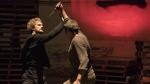 Finn Jones, left, is seen in a scene from the Netflix original series, 'Iron Fist.' (Patrick Harbron / Netflix)