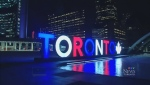 Toronto sign, London terror attacks
