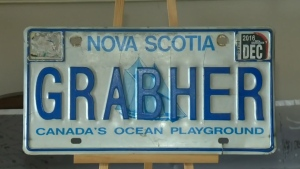 N.S. man's personalized licence plate deemed unacc