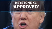 Trump approves Keystone XL pipeline