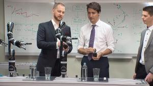 Trudeau in Quebec