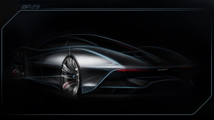 McLaren reveals further details of bespoke 'Hyper-GT' car. (McLaren Automotive)