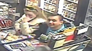 Brantford Police say these two people are suspects in an investigation into credit card fraud.