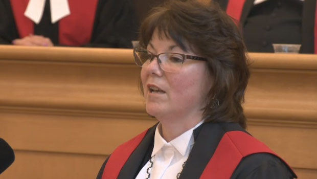 Nova Scotia's first Mi'kmaq and first female aboriginal judge was sworn-in Friday in Bridgewater.