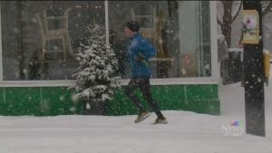 CTV Ottawa: Near-record snow fall