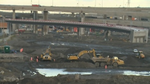 The Turcot construction site