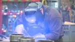 Welding - Keystone pipeline optimism