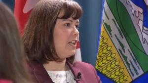Kathleen Ganley - Alberta Justic Minister