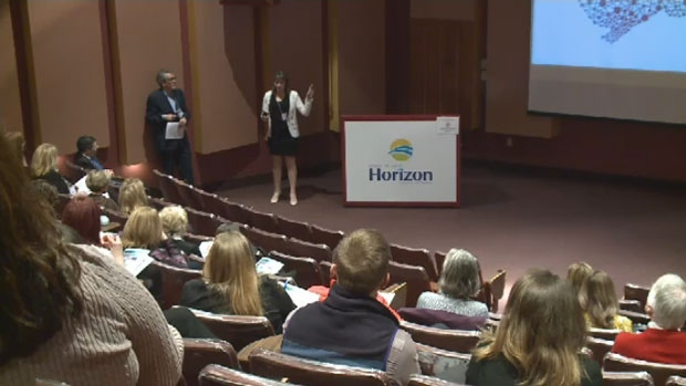 Barry Strack with Horizon Health organized a forum that explored the use of marijuana to control pain, and some unanswered questions.