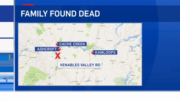 4 people found dead in small BC community