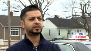 Amer Abdo speaks to CTV News in Halifax.