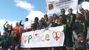 Annual Peace March - Calgary