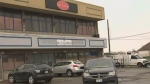 Police are investigating after shots were fired outside a banquet hall in Humber Summit.