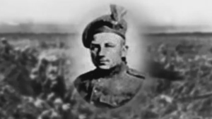 John Arsenault of Cheticamp died in the battle of Vimy Ridge in 1917.