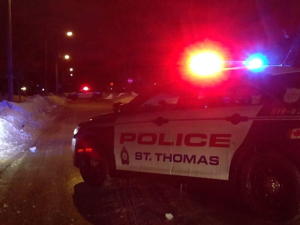 A St. Thomas man is facing charges following an incident that led to a struggle with a police officer early on Saturday, March 25, 2017.
