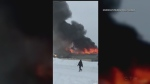 Video: Pukatawagan youth centre burns