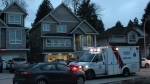 Police have confirmed a man is dead after a stabbing in Surrey, B.C. early Sunday morning. (CTV News). March 26, 2017.