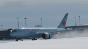 AC flight makes emergency landing