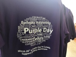 Purple Day on March 26th, 2017 brings attention to the need for awareness of epileptic seizures and related first aid.