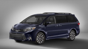 The 2018 model year Toyota Sienna in Limited trim specification (Toyota)