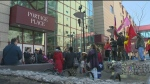 Ceremony at Portage Place promotes healing