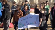 Northern Community Hills - rally for high school