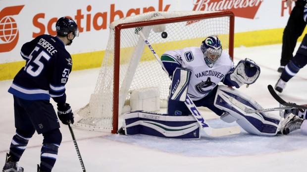 Vancouver Canucks' Winger Brock Boeser Scores in NHL Debut