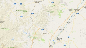 Nasu in Tochigi prefecture, Japan, is seen in this image from Google Maps. (Google)