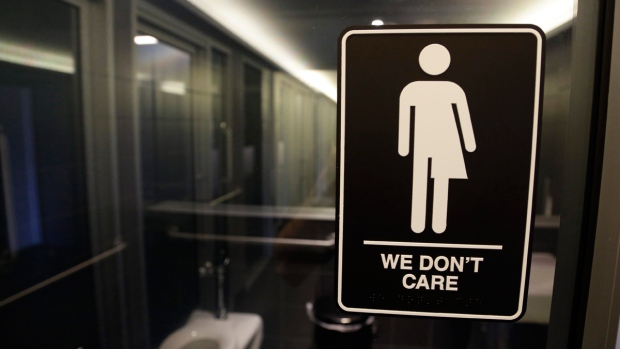 Bathroom Key Sign compromise to undo norh carolina 'bathroom law' passes key hurdle