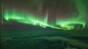 Passengers dazzled by southern lights on charter f