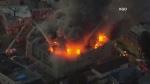 4-alarm fire in Oakland, Calif.