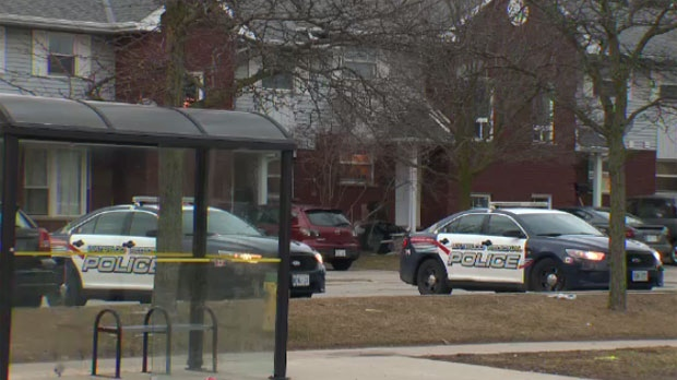 Officers responded to a townhouse complex on Elgin Street in Cambridge around 6 p.m. Friday.