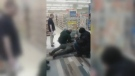A video surfaced online showing an altercation between a man and a loss prevention officer hired by a Shoppers Drug Mart on York University campus.