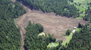 The Johnsons Landing landslide is shown in this July 12, 2012 file photo. (Emergency B.C.)