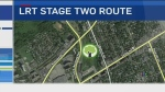 CTV Ottawa: Residents oppose LRT Stage Two path