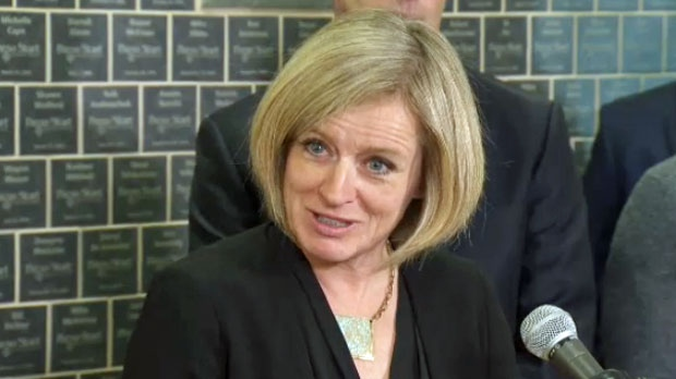 Notley and Wall square off over whose budget is better