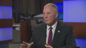 Bill Blair discusses upcoming legislation of marijuana in Canada.