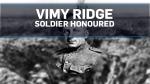 Vimy Ridge soldier