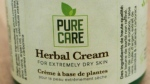 PureCare's Herbal Cream is seen in this provided image. (Health Canada)