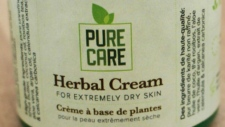 Health Canada warning about PureCare cream