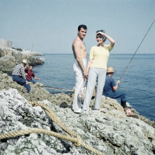 Tony Curis and Christine Kaufman