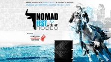 Urban rodeo in Montreal