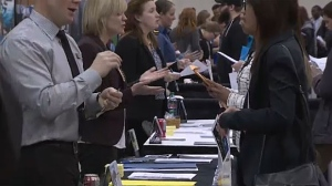 Thousands of young people are expected to attend the annual job fair at Calgary's Stampede Park on Tuesday afternoon.