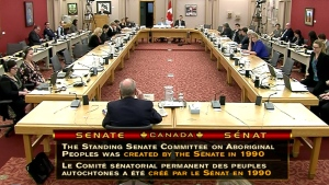 Senate hearing on Aboriginal Affairs